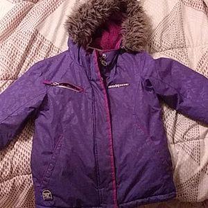 Zeroxposur children coat with fur